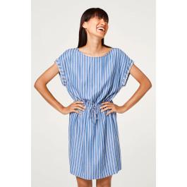 Lyocell A Look In Dresses Esprit Women Nautical Striped Dress yOv8PmwNn0