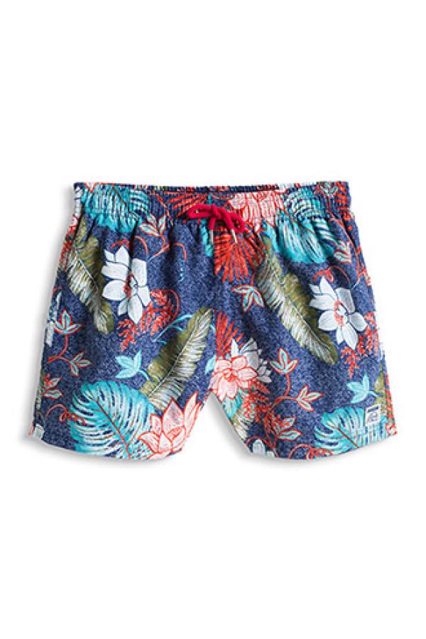 bc79edd34b3a9 Esprit Woven Swim Shorts With A Floral Print - Mini Boys 2-9 Years ...