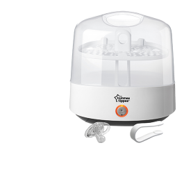 White Tommee Tippee Closer to Nature Electric Steam Steriliser