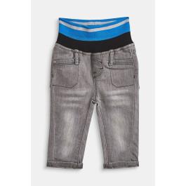 neuesten Stil UK Verfügbarkeit Beamten wählen ESPRIT Stretch jeans with a striped ribbed waistband